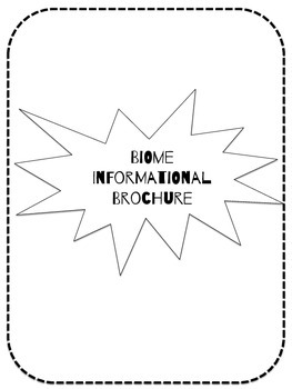 Biome Informational Brochure!