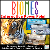 Biomes Distance Learning | Google Slides &  PowerPoint - Power Point Interactive