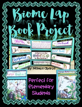 Biome Lap Book Project