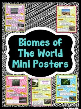Biome Mini-Posters