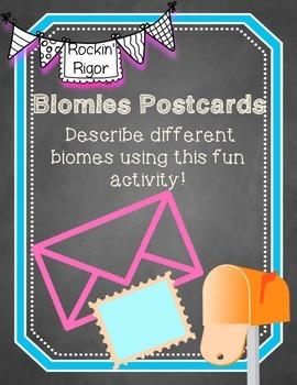 Biome Postcards