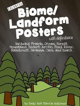Biome/Landform Posters
