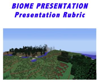 Biome Presentation Rubric