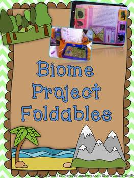 Biome Project Foldables