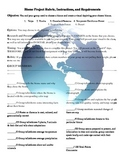 Biome Project: Requirements, Directions, Rubric, and Extras!