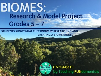 Biome Project - Research and Model