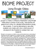 Biomes Project for Google Slides.
