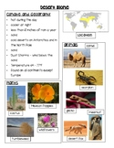 Biome Quick Fact Sheets