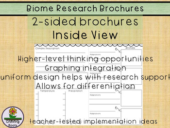 Biome Research Brochures - Ecosystems too!
