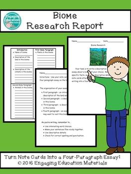 Biome Research Report