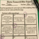 Biome Research Tic Tac Toe Differentiated Learning Plan
