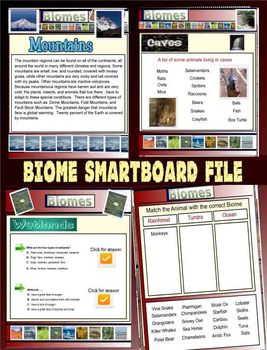 Biome Smartboard File - 55 Pages