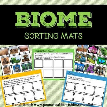 Biome sort teaching resources teachers pay teachers biome sorting mats biome sorting mats sciox Gallery