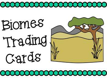 Biome Trading Cards