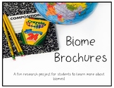 Biome Travel Brochure