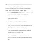 Biome Vocab Quiz