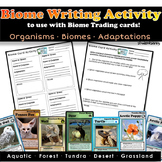Biome Writing Activity! - Common Core Aligned