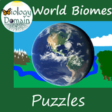 Biome and Aquatic Ecosystems Crossword and Word Search