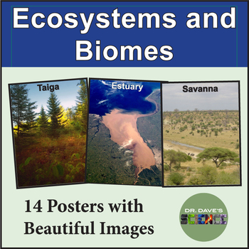 Biome and Ecology Posters