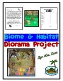 Biome and Habitat Diorama Project