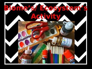 Biome's & Ecosystem's Activity