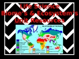 Biome's & Ecosystem's Unit Resources