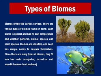 BIOMES POWERPOINT
