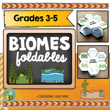 Biomes-Interactive Science Notebook foldables