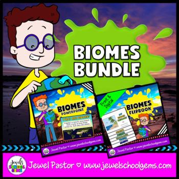 Biomes Activities BUNDLE (PowerPoint and Flipbook)