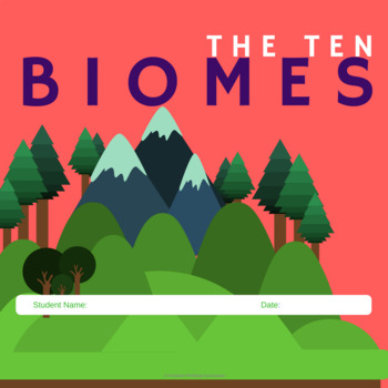 Biomes- for Google Classroom and Google Drive