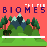Biomes- A Science Resource for Google Classroom and Google Drive