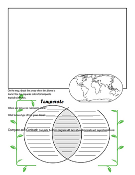 Biomes Activity Book