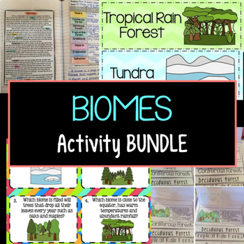 Biomes Activity Bundle