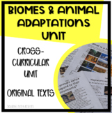 Biomes, Adaptations, How Animals Sense & Respond to Their Environments Unit