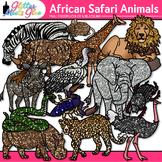 African Safari Animal Clip Art: Animal Group Graphics {Glitter Meets Glue}