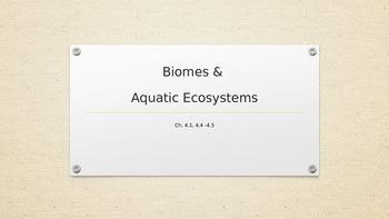 Biomes & Aquatic Ecosystems