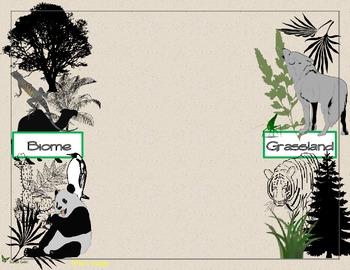 Biomes Around the World Foldable