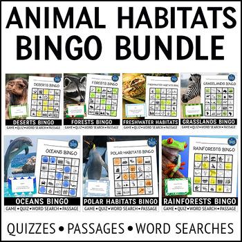 Biomes Bingo Bundle