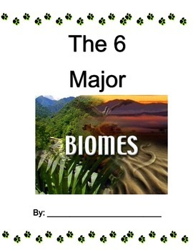 Biomes Booklet