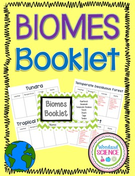 Biomes Booklets