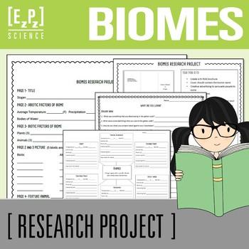 Biomes Brochure Project
