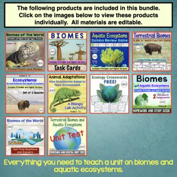 Biomes Bundle