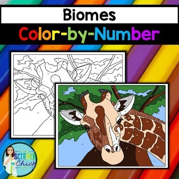 Biomes Color-By-Number