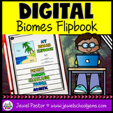 Biomes DIGITAL Flipbook (Google Classroom Distance Learnin