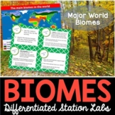 Biomes Student-Led Station Lab