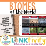 Link & Think Digital Guide - Biomes {Google Classroom Compatible}