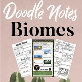 Biomes Doodle Notes