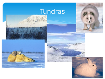 Biomes - Earth's Land and Water PPT Lecture