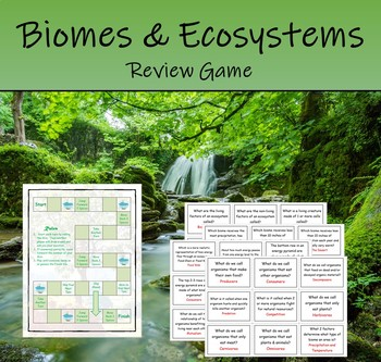 Biomes & Ecosystems Review Game