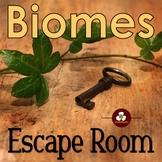 Biomes Escape Room